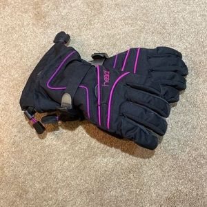 Ski gloves girls size M